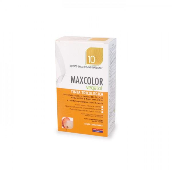 Vopsea de Par MaxColor Vegetal 10 BLOND DESCHIS