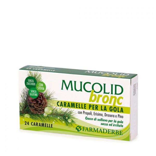 Mucolid Bronc 24 cu eucalipt